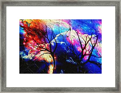Storm Clouds Framed Print by Kathy Kelly