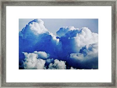 Storm Clouds Framed Print