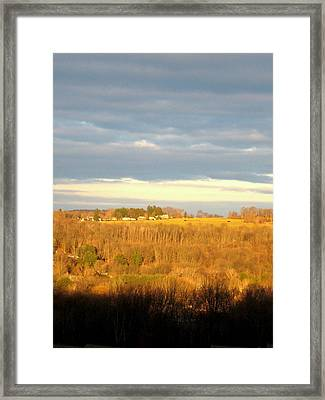 Storm Clouds Framed Print by Marcia Crispino
