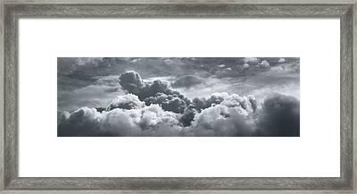 Storm Clouds Over Sheboygan Framed Print
