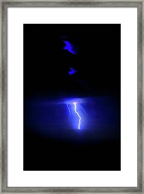 Storm Dancer Framed Print