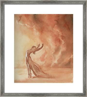Storm Dancer Framed Print