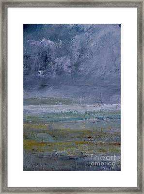 Storm  Day Framed Print