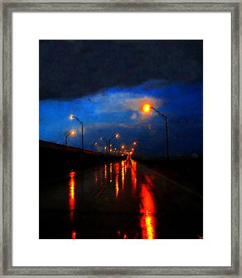 Storm Drive Framed Print by David Lee Thompson