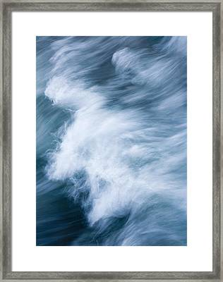 Storm Driven Framed Print by Mike  Dawson