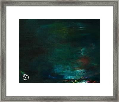 Storm Framed Print by Eva Vladi