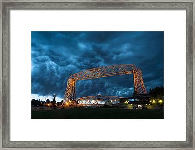 Storm Front Framed Print by Alex Ganeev