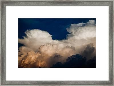 Storm Front Framed Print by Patrick  Flynn