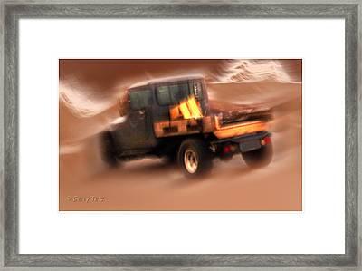 Still Truckin' Framed Print