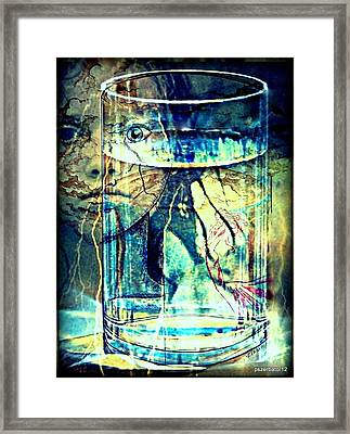Storm In A Glass Of Water Framed Print