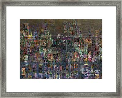 Storm In The City  Framed Print by Andy  Mercer