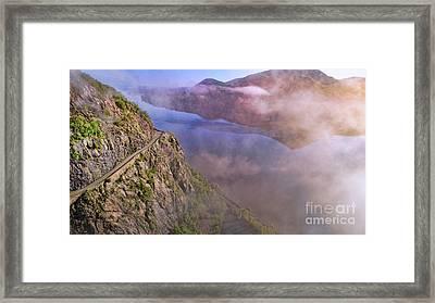 Storm King Highway Framed Print