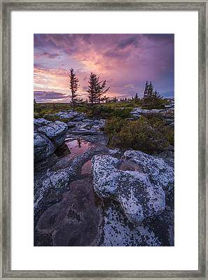 Storm Light Framed Print by Joseph Rossbach