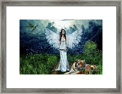 Storm Maiden Framed Print