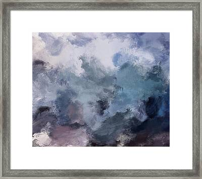 Storm Framed Print by Mark Taylor