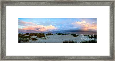 Storm Of Pastels Framed Print
