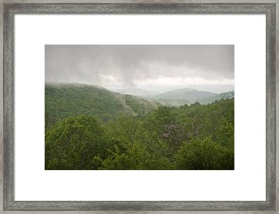 Storm On Monte Sano Framed Print