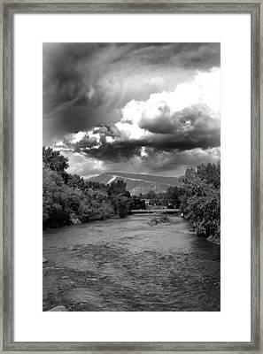 Storm Over Animas Framed Print