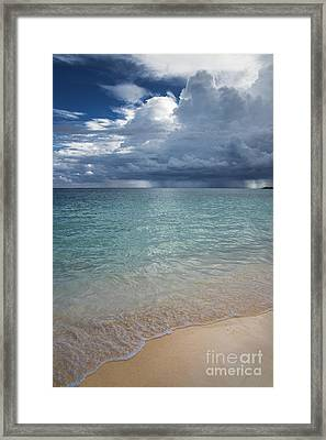 Framed Print featuring the photograph Storm Over The Caribbean Sea by Yuri Santin