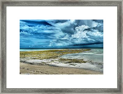 Storm Over Yamacraw Framed Print