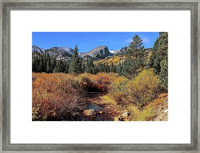 Storm Pass Trail Framed Print