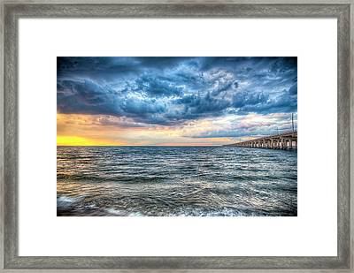 Storm Rising Framed Print