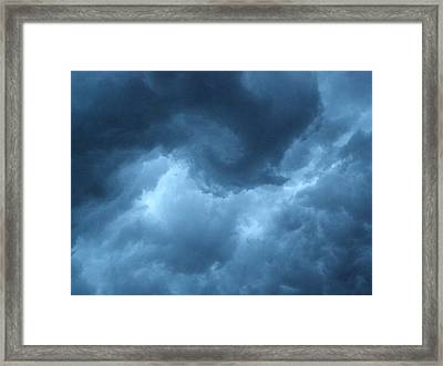 Framed Print featuring the photograph Storm Rolling In by Angie Rea
