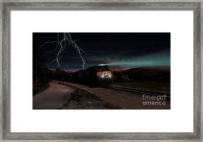 Storm Runners Framed Print