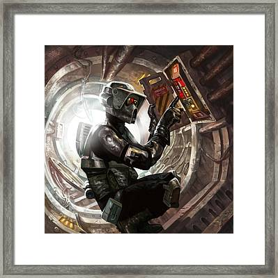 Storm Scout Framed Print by Ryan Barger