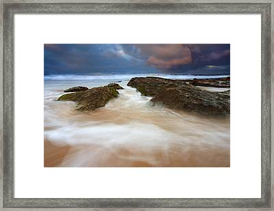 Storm Shadow Framed Print by Mike  Dawson