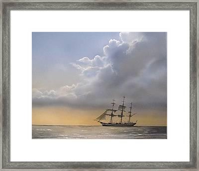 Storm Sky Framed Print