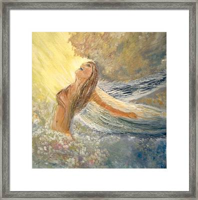 Storm Song Framed Print by J Bauer