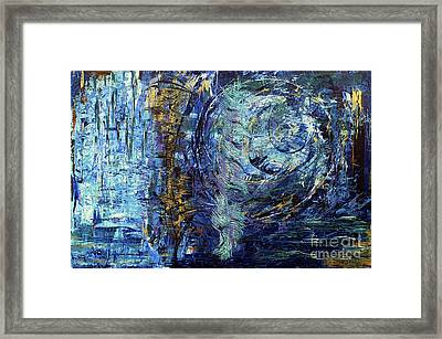 Framed Print featuring the painting Storm Spirits by Cathy Beharriell