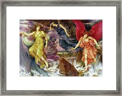 Storm Spirits Framed Print