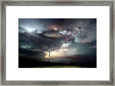 Storm Stacking Framed Print by Susan Maxwell Schmidt