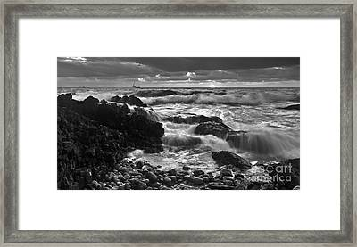 Storm Surge Framed Print by Bill  Robinson