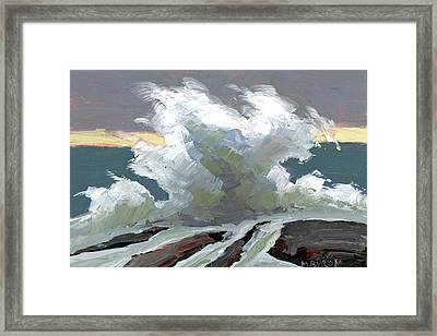 Storm Swept I Framed Print