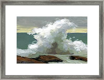 Storm Swept II  Framed Print