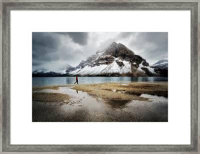 Storm Tracker Framed Print