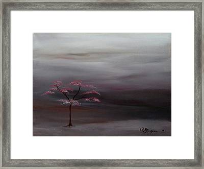 Storm Tree Framed Print by Robert Marquiss