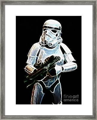Storm Trooper Framed Print by Paul Ward
