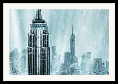 Of Buildings Framed Prints