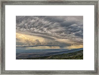Storm View Framed Print
