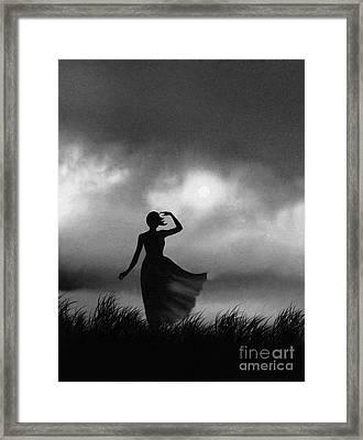 Storm Watcher Framed Print by Robert Foster