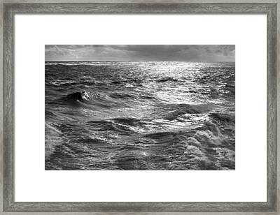 Storm Waters Framed Print by Sean Davey