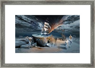 Stormbringer Framed Print by George Grie