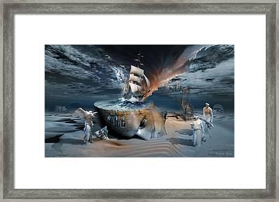 Stormbringer Framed Print