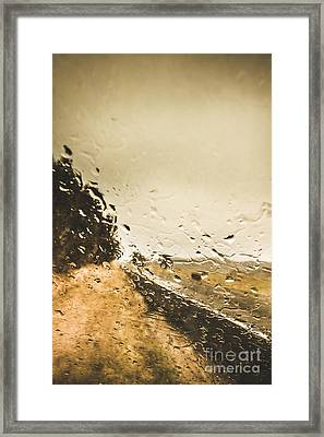 Storming Highway Framed Print