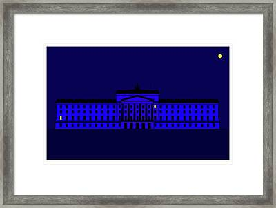 Stormont Belfast Framed Print by Asbjorn Lonvig