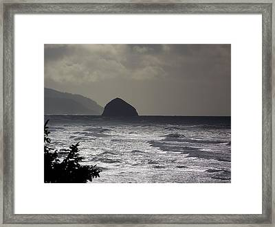 Storm's A Brewin' Framed Print by Angi Parks